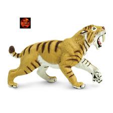 Smilodon Tigre à Dents de Sabre 11,5 cm Série Dinosaures Safari Ltd 279729