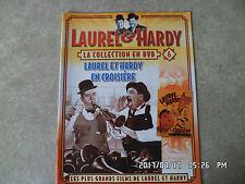 FASCICULE LAUREL & HARDY LA COLLECTION N°6 LAUREL ET HARDY EN CROISIERE  K56