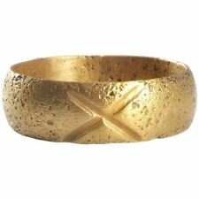 ANCIENT VIKING WEDDING RING C.850-1050 AD SIZE 8 ¾