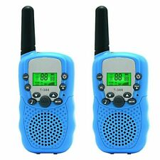 Children Walkie Talkies 2PCS Long Range Kids Walky Talky UHF 446MHz 8 Channel UK