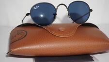 RAY BAN JR JUNIOR New Round Black Blue Sunglasses RJ9537S 201/80 40 20