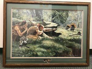 Native Hunter Limited Edition Framed Print by Jack Paluh Signed 277/750