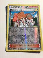 Professor Juniper - 98/108 Reverse Holo Pokemon Card