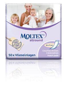 50 MOLTEX allround Hygiene Vorlagen 36x11cm Inkontinenzeinlagen Damen und Herren