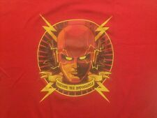TeeFury Become The Impossible CW TV Series The Flash DC Comics Men's 2XL T Shirt
