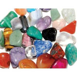 50g Mixed African 10-20mm Healing Crystals Tumble Stones Chakra Gemstone Mineral