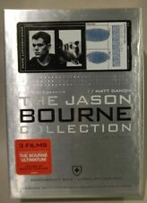 The JASON BOURNE COLLECTION LIMITED EDITION 4 DVD SET with Bonus Footage