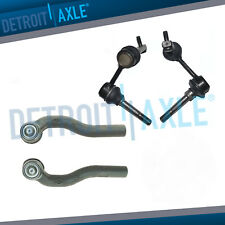 Front Sway Bar End Links + Outer Tierods for 1998-2005 Lexus GS300 GS400 GS430
