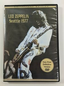 Led Zeppelin: DVD Seattle, WA 1977 Promo copy