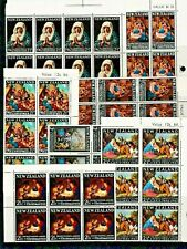 New Zealand CHRISTMAS Thematic STAMP Collection MINT Never Hinged BLOCKS Re:QV55