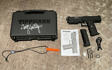 tippmann tipx pistol with full hard shell case and signed (never used)