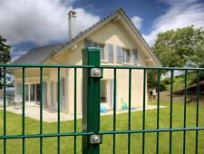 Doppelstabmattenzaun 30m B 1,43m H grün Zaun Gartenzaun Metallzaun