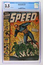 Speed Comics #23 - Harvey Publications 1942 - CGC 3.5!