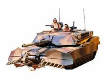 TAMIYA 1/35 U.S. M1A1 ABRAMS with Mine Plow Model Kit NEW from Japan