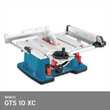 "Bosch GTS 10 XC Professional Table Saw 2100W 10"" 254mm 77lbs 220V Free UPS Ship"