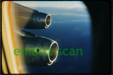Original Slide, United Airlines Douglas DC-8 Engines, 1961