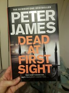 Dead at First Sight (Roy Grace) by James, Peter Book Cheap SALE