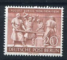 GERMANY BERLIN 1955 AUGUST BORSIG SCOTT 9N112 PERFECT MNH
