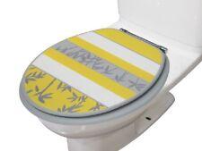 "Heavy Duty Decorative Round Toilet seat Round 17""Inch Seat (Venezia Yellow)"