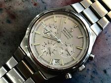 Vintage Zenith Movado Chronograph El Primero 3019 Wristwatch Rare Surf mineral