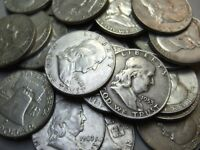 2 Silver Half Dollars Lot Nice Condition No Junk $1 90% Old US Collectible Coins