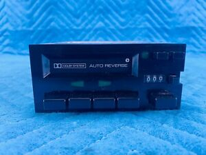 Datsun 280ZX Radio Cassette Player Dolby System Clarion 1981-1983 OEM