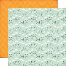 """ECHO PARK - """"Summer Bliss Collection"""" """"BICYCLE BLISS """" 12""""x12"""" Cardstock SB62008"""