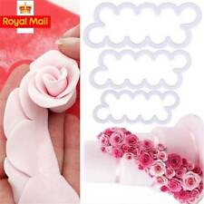 3D Rose Petal Flower Cake Cutter Fondant Icing Tool  Decorating Mould Sugarcraft