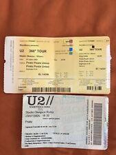 Biglietti U2 Collezione