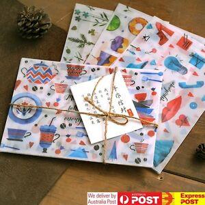 Semi Transparent Watercolour Envelopes Invitation Card Making Novelty Storage