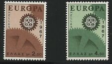 Greece Scott #891-92, Singles 1967 Complete Set FVF MNH
