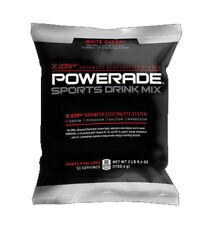 Powerade Powder Drink Mix, 5 gallon pouch bag White Cherry