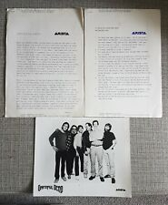 More details for grateful dead - in the dark - arista press kit from 1987 + band picture - ex.con
