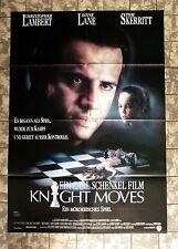 KNIGHT MOVES  * A1-FILMPOSTER Kino - German 1-Sheet ´92 CHRISTOPHER LAMBERT