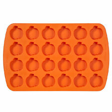 Pumpkin Bite Size Silicone Mold Pan  24 Cavities from Wilton #4900 - NEW