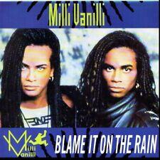 MILLI VANILLI BLAME IT ON THE RAIN/DANCE WITH A DEVIL 45RPM  W/PIC SLEEVE
