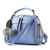 Women PU Leather Style Shoulder Handbag Tote shoulder Bag Crossbody  9 Colours❤