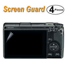 4x LCD Screen Protector Protective Film for Ricoh GR III / GRIII / GR3