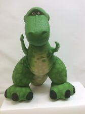 FISHER PRICE TOY STORY 2009 SQUEEZE AND ROAR REX 14 INCH PLUSH
