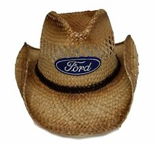Ford Straw Western Cowboy Hat Official Licensed Brown 300907