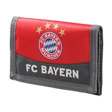 FC Bayern München Geldbeutel rot - Geldbörse - Geldtasche - logo FCB