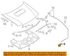 SUBARU OEM 98-05 Forester Hood-Lock Latch 57310SA020