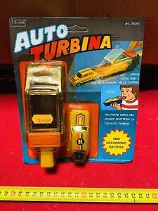 AUTO TURBINA LUCA SOFFIA E VAI!!!VINTAGE BELLISSIMA!!!yellow