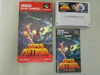 Super Metroid Nintendo Super Famicom SFC SNES Used Japan Rare Free Shipping