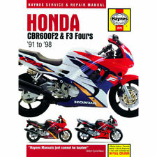 Honda CBR600F2 CBR600F3 Fours 1991-98 Haynes Workshop Manual