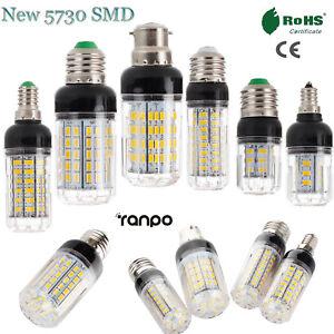 LED Corn Light Bulbs E27 E14 E12 E26 B22 9 - 35W 110V 220V DC 12V 5730 SMD RD275