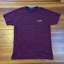 POLO SPORT RALPH LAUREN USA Flag Spellout Short Sleeve Tee Shirt Size Medium