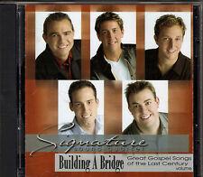 """SIGNATURE SOUND QUARTET....""""BUILDING A BRIDGE""""....ERNIE HAASE......OOP GOSPEL CD"""