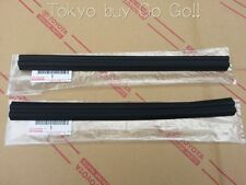Toyota AE86 Trueno Levin Zenki Kouki Door Glass Run Rear LH +RH set Genuine OEM