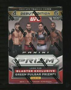 2021 PANINI PRIZM UFC CARDS FACTORY SEALED 6 PACK BLASTER BOX BRAND NEW